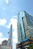Bitexco tower and other building/tower. In Sai Gon, Viet Nam Stock Image