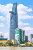 Bitexco tower symbolic Ho Chi Minh City Royalty Free Stock Photos
