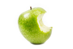bitit äpple Royaltyfria Foton