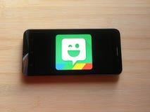Bitmoji app στοκ φωτογραφία με δικαίωμα ελεύθερης χρήσης