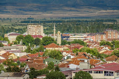 Bitola, Macedonia - panorama Fotografie Stock