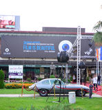 Bitola Macedonia, Wrzesień, - 23 2015: Międzynarodowych operatorów filmowych Ekranowy festiwal Fotografia Stock
