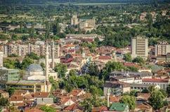 Bitola Makedonien - panorama Fotografering för Bildbyråer