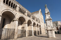 Bitonto (Apulia, Italy) - Cathedral Stock Photos