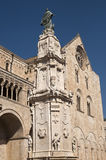 Bitonto (Apulia, Italy) -Cathedral Stock Photos