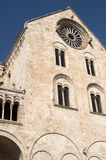 Bitonto (Apulia, Italy) - Cathedral facade Royalty Free Stock Images