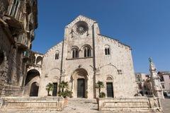 Bitonto (Apulia, Italy) - Old cathedral Stock Photos