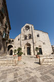 Bitonto (Apulia, Italy) - Old cathedral Stock Image