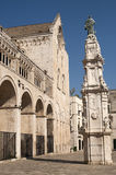 Bitonto (Apulia, Italy) - Old cathedral Royalty Free Stock Image