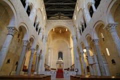 Bitonto-Kirche Stockbilder