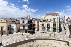 Bitonto, Puglia Włochy Obraz Royalty Free