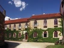 bitov城堡捷克共和国 库存图片