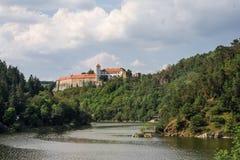 Bitov Middeleeuws kasteel in Moravië Royalty-vrije Stock Afbeeldingen