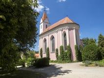 Bitov-Schloss ab 1061 ist ein Kulturdenkmal, die Tschechische Republik stockbild