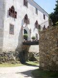 Bitov-Schloss ab 1061 ist ein Kulturdenkmal, die Tschechische Republik stockbilder