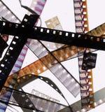bits da película de 8mm Fotografia de Stock