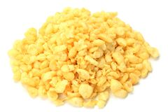 Bits of fried tempura batter Royalty Free Stock Image