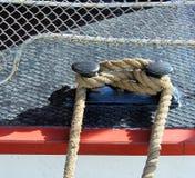 Bitt do barco de navigação Foto de Stock