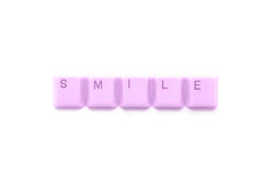 Bitte Lächeln! Stockbild