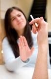 Bitte rauchen Sie nicht! Stockfotos