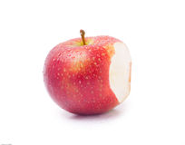 Bitten apple Stock Image