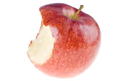 Bitten apple Royalty Free Stock Photos