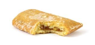 Bitten apple snack pie Stock Image