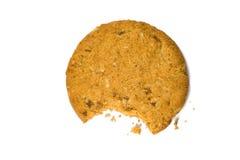 Bitten cookie Royalty Free Stock Photos