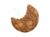 Bitten cookie Stock Images