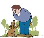Bitten des Hundes Lizenzfreies Stockbild