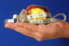 Bitten Diet Apple Royalty Free Stock Images