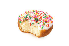Bitten donut Royalty Free Stock Photos