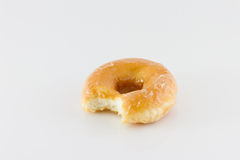 Bitten donut Royalty Free Stock Photography