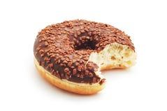 Bitten doughnut Royalty Free Stock Image