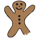 Bitten Gingerbread Royalty Free Stock Photos