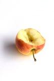 Bitten pink apple Stock Photo