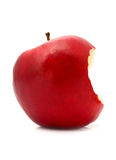 Bitten red apple Royalty Free Stock Image