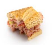 Bitten Sandwich Stock Photos