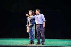 Bitten Sie die Weise-D um historisches Artlied und tanzen Sie Drama magische Magie - Gan Po Lizenzfreies Stockbild