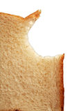 Bitten toast bread Royalty Free Stock Image