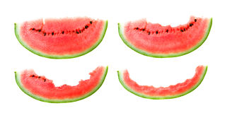 Bitten water-melon Stock Photography