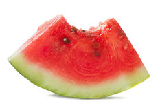 Bitten watermelon Royalty Free Stock Photos