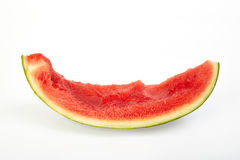 Bitten watermelon Royalty Free Stock Images