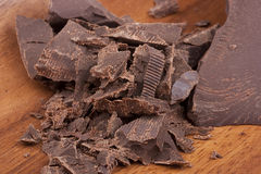 Bitter chocolate Stock Images