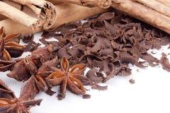 Bitter chocolate Stock Photos