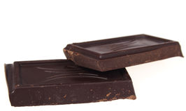 Bitter chocolate Royalty Free Stock Images