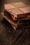 Bitter chocolate. Royalty Free Stock Image