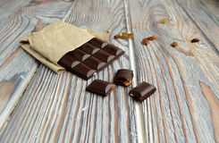 Bitter chocolate Stock Photography