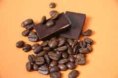 Bitter choklad royaltyfri foto