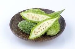 Bitter Cucumber, Balsum Pear (Momordica charantia L.) Royalty Free Stock Images